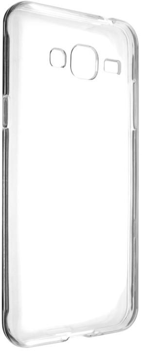 FIXED TPU gelové pouzdro pro Samsung Galaxy J3 (2016), čiré