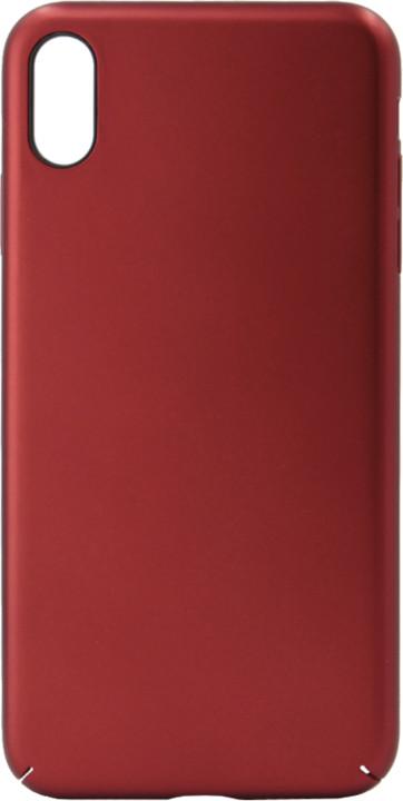 EPICO ultimate plastový kryt pro iPhone XS Max, červený