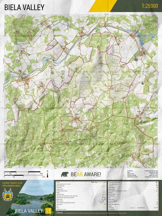 Mapa DayZ - Livonia