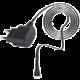 Forever cestovní dobíječ TFO MINI USB 1100mA, 1,4m, černý