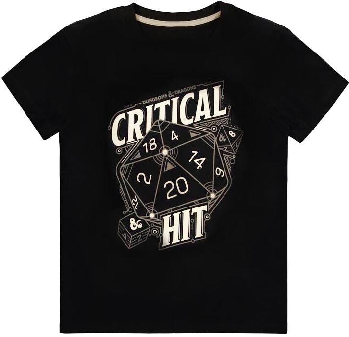 Tričko Dungeons & Dragons - Critical Hit (M)