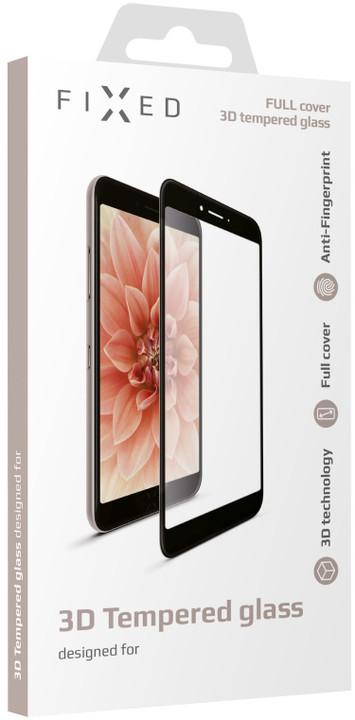 FIXED 3D Full-Cover ochranné tvrzené sklo pro Samsung Galaxy J3 (2017), černé
