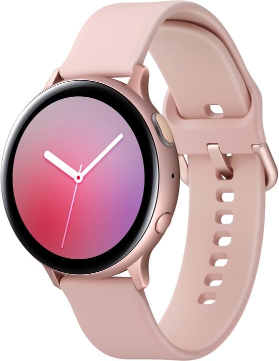 Samsung Galaxy Watch Active 2 44mm, růžovozlatá