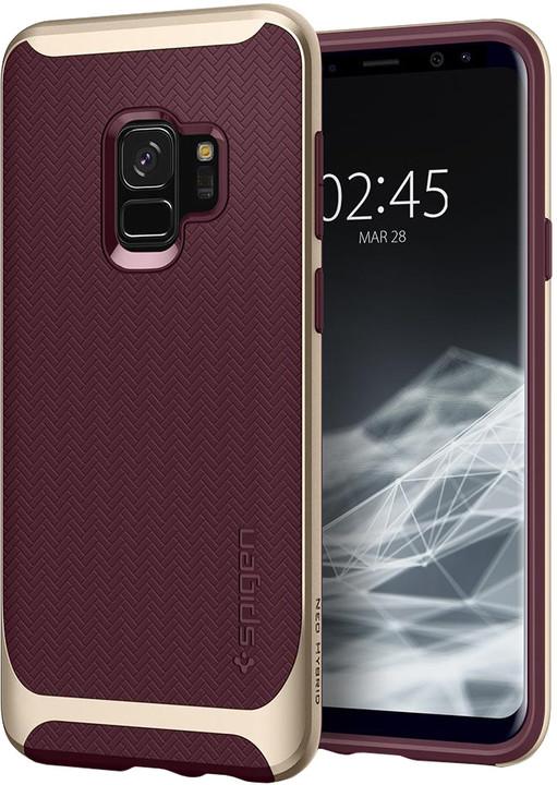 Spigen Neo Hybrid pro Samsung Galaxy S9, burgundy