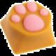 ZOMOPLUS Kitty Paw, MX stem, oranžová/růžová