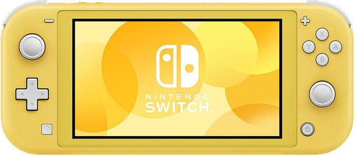 Nintendo Switch Lite, žlutá