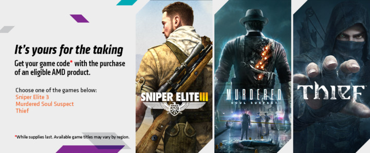 Sniper Elite3/Thief/Murdered v ceně 999 Kč