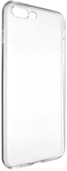 FIXED Skin ultratenké TPU gelové pouzdro pro Apple iPhone 7 Plus, 0,5 mm, čiré