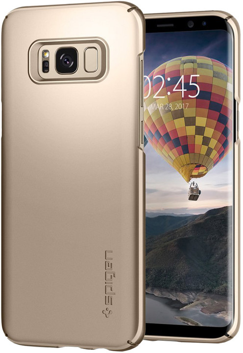 Spigen Thin Fit pro Samsung Galaxy S8, gold maple