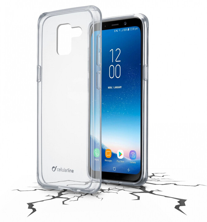Cellularline CLEAR DUO pro Samsung Galaxy A8 (2018)