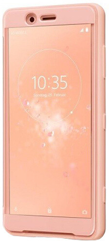Sony SCSH50 Style Cover Touch pouzdro Xperia XZ2 Com, růžová