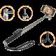 GoGEN 4 Selfie tyč teleskopická, bluetooth, titanová  + Voucher až na 3 měsíce HBO GO jako dárek (max 1 ks na objednávku)