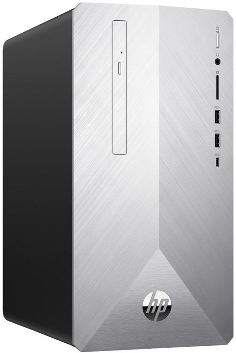 HP Pavilion 595-p0013nc, stříbrná