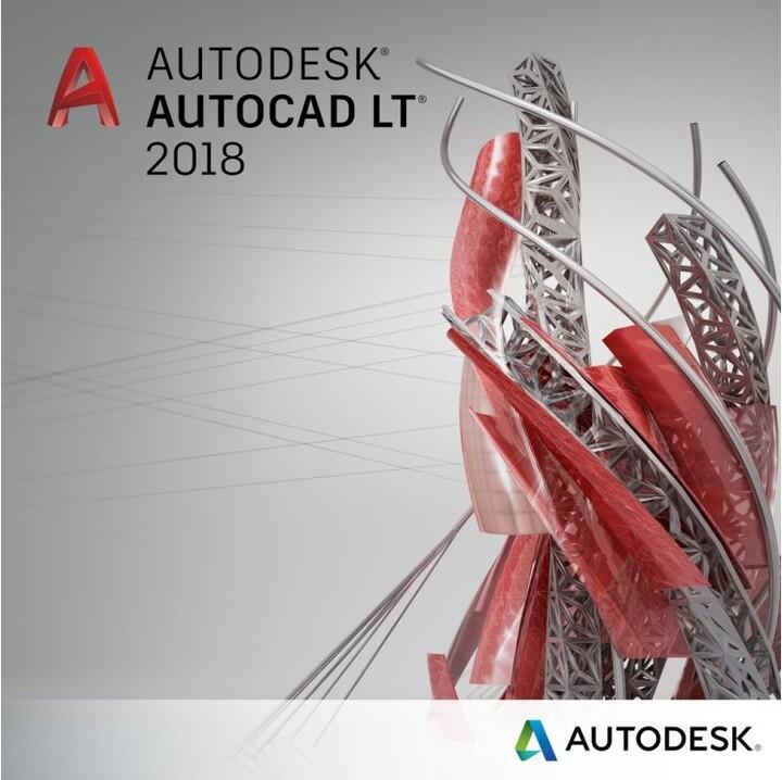 Autodesk AutoCAD LT 2018 Commercial New na 3 roky