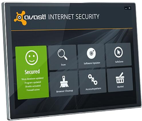 Avast! Internet Security, 5 uživatelů (12 měs.) prodloužení