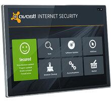 Avast! Internet Security, 3 uživatelé (36 měs.) prodloužení AIS8036RRCZ003