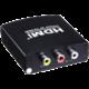 PremiumCord převodník AV kompozitního signálu a stereo zvuku na HDMI 1080P