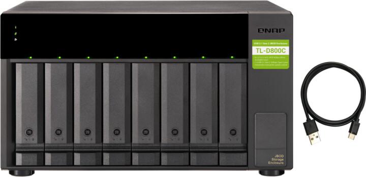QNAP TL-D800C - rozšiřující jednotka (8xSATA)