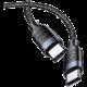 USAMS SJ400 U31 Type C / Type C 100W Fast datový kabel 1.2m, černá (EU Blister)
