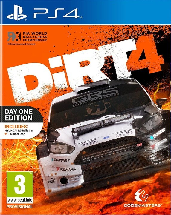 DiRT 4 - Day One Edition (PS4)