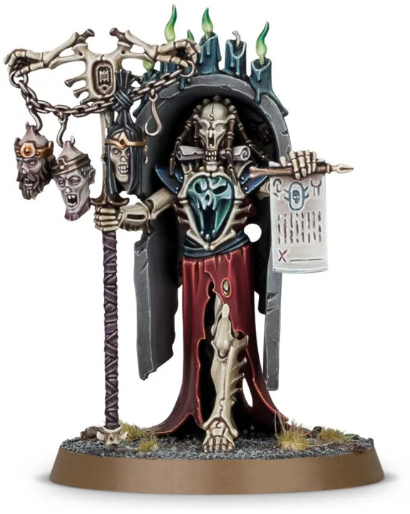 Figurka W-AOS: Ossiarch Bonereaper - Vokmortian Master of the Bone-Tithe