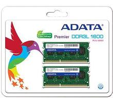 ADATA Premier 8GB (2x4GB) DDR3 1600 CL 11 ADDS1600W4G11-2