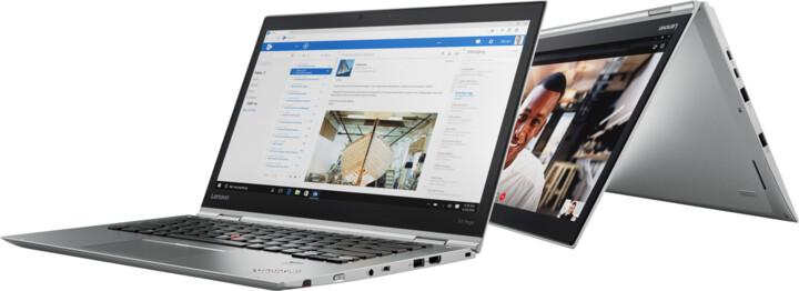 Lenovo ThinkPad X1 Yoga Gen 3, stříbrná