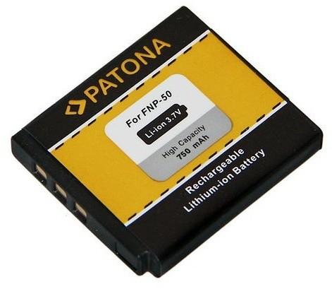 Patona baterie pro Fuji NP-50 750mAh