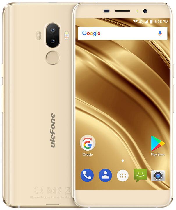 Ulefone S8 Pro, 2GB/16GB, zlatá