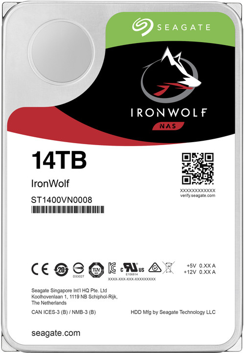 "Seagate IronWolf, 3,5"" - 14TB"