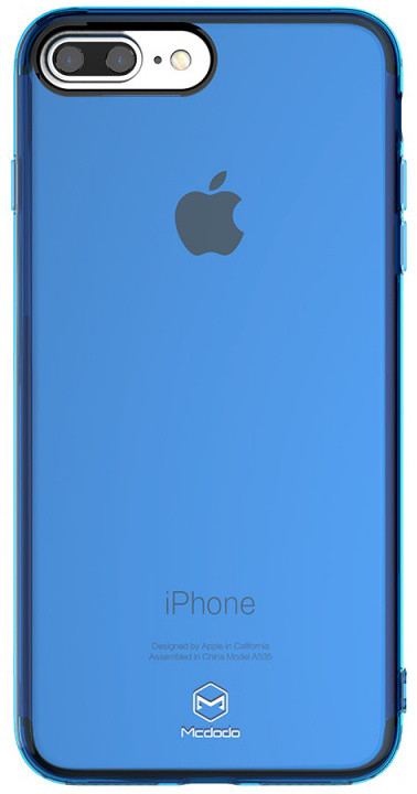 Mcdodo iPhone 7 Plus/8 Plus PC + TPU Case, Blue