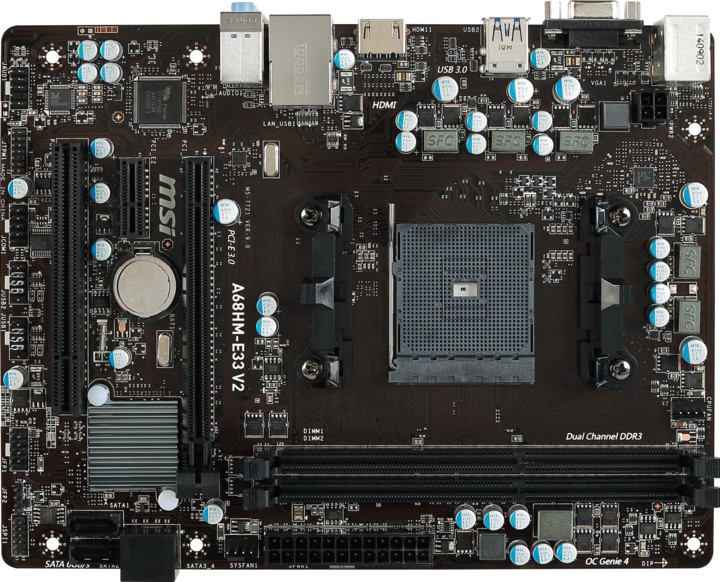 MSI A68HM-E33 V2 - AMD A68H