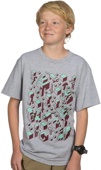 Minecraft - Orthocraft, dětské (US XL / EU XXL)