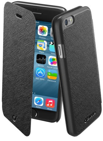 CellularLine pouzdro Book Color pro iPhone 6, černá