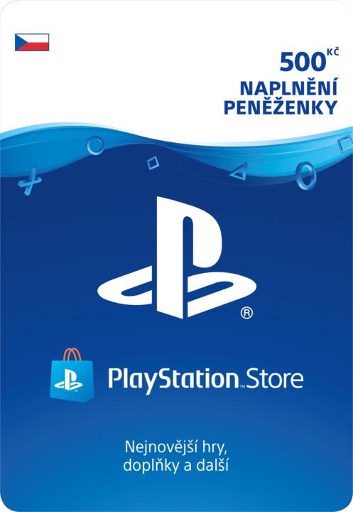 PlayStation Store naplnění peněženky 500 Kč - elektronicky