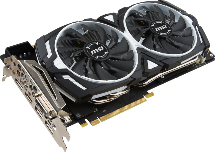 MSI GeForce GTX 1070 Ti ARMOR 8G, 8GB GDDR5