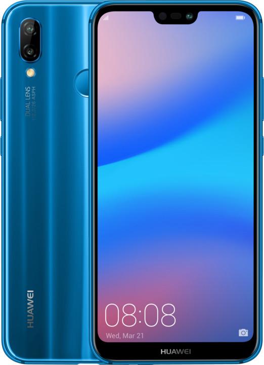Huawei P20 Lite, modrá