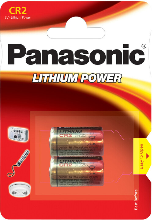 Panasonic baterie CR2 2BP Li