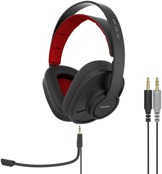 KOSS GMR540 ISO, černá