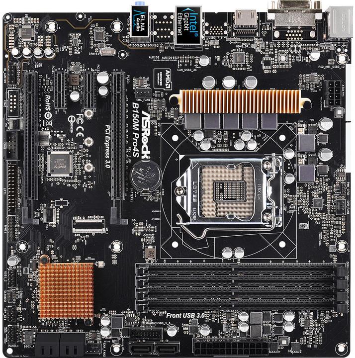 ASRock B150M PRO4S - Intel B150