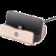 Forever DS-01 nabíjecí stojánek TFO pro microUSB, růžový zlatý