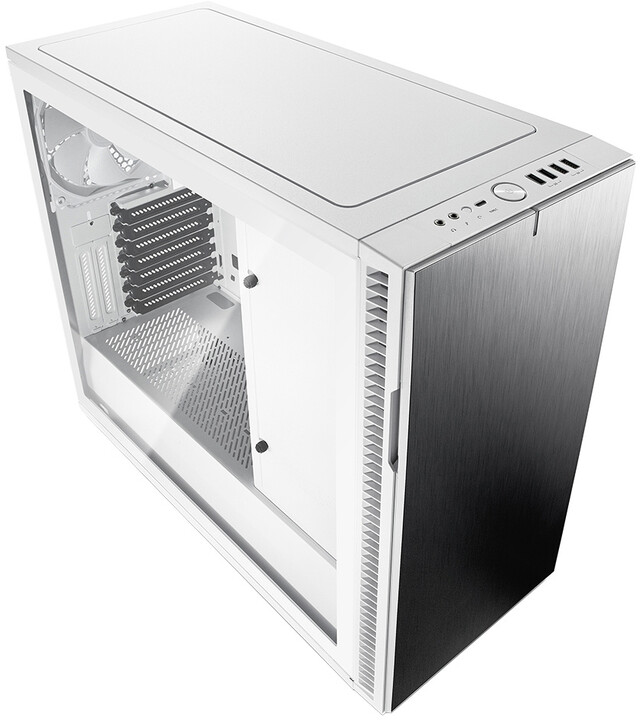 Fractal Design Define R6 USB-C Tempered glass, White