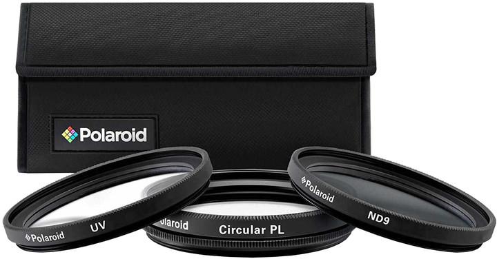 Polaroid Filter Kit 62Mm UV MC, CPL, ND9