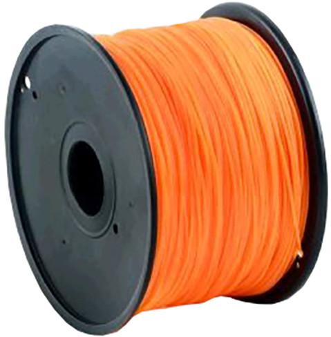 Gembird tisková struna (filament), PLA, 1,75mm, 1kg, neonová oranžová