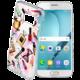 CellularLine STYLE průhledné gelové pouzdro pro Samsung Galaxy A5 (2017), motiv GLAM