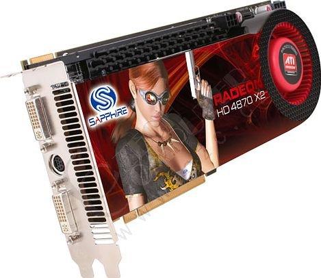 Sapphire HD 4870 X2 2GB, PCI-E