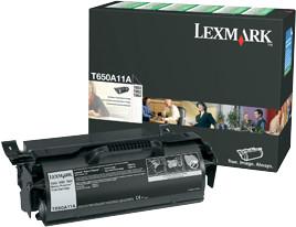 Lexmark T650A11E, černá