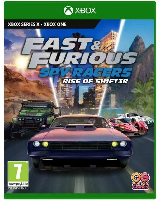 Fast & Furious: Spy Racers Rise of SH1FT3R (Xbox)