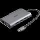 Acer USB-C Dongle 10v1, PowerDelivery, HDMI, VGA, LAN, 3x USB, čtečka karet, audio jack