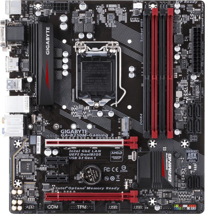 GIGABYTE B250M-Gaming 3 - Intel B250